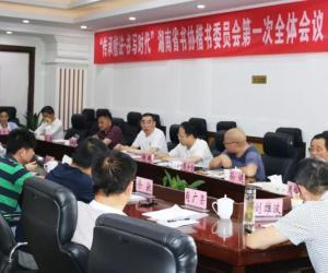 湖南省书法家协会楷书委员会第一次全体会议在长沙召开