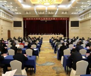 """湖南省书协获评2019年度""""先进省文艺家协会""""称号"""