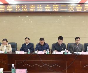 岳阳市青年书法家协会第二次会员代表大会召开