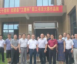 """炎陵县""""工惠杯""""职工书法大赛作品展在县图书馆举行"""