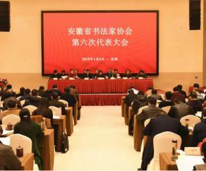安徽省书法家协会第六次代表大会在合肥召开